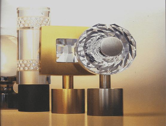 Swarovski Crystal Finials - JF Fabrics