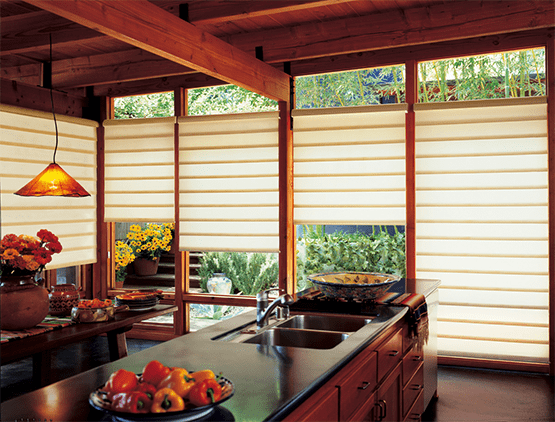 Vignette Shades with Easyrise Cordless Feature