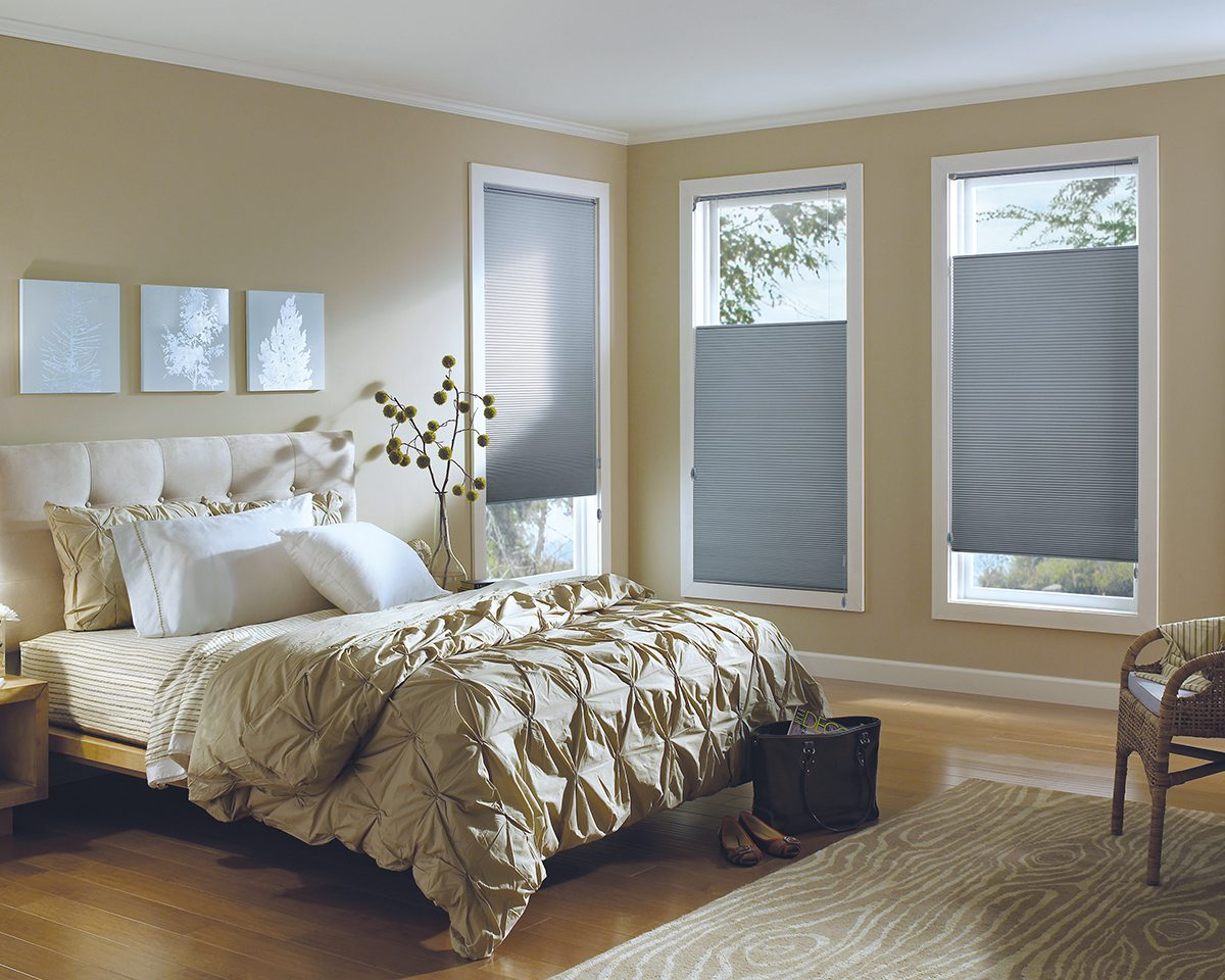 Applause® Honeycomb Shades in Bedroom