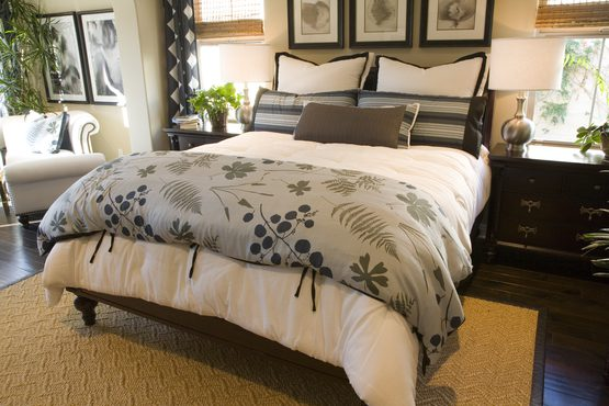 Custom Duvet, Bedspread, and Pillows