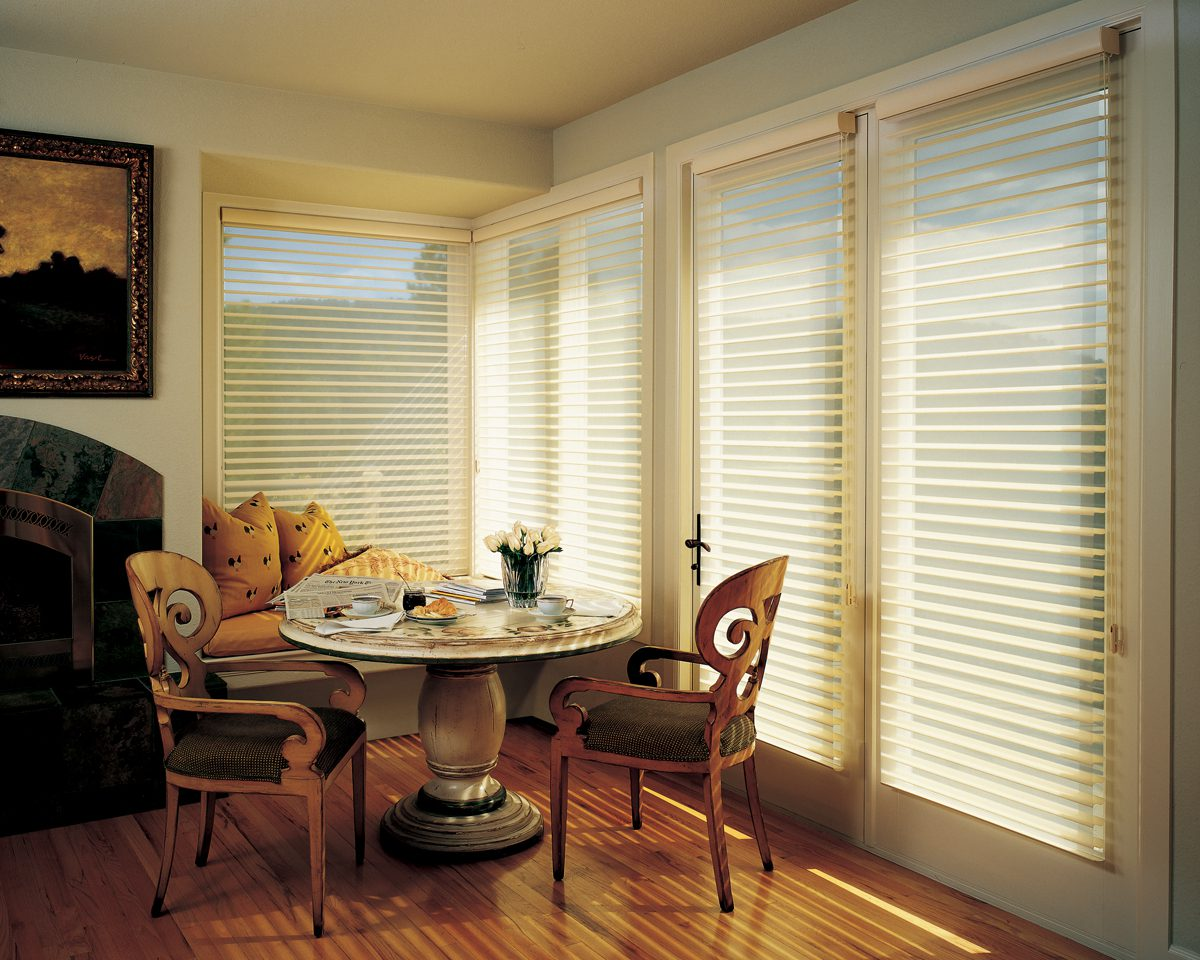 Nantucket™ Window Shadings with Easyrise in Dining Room