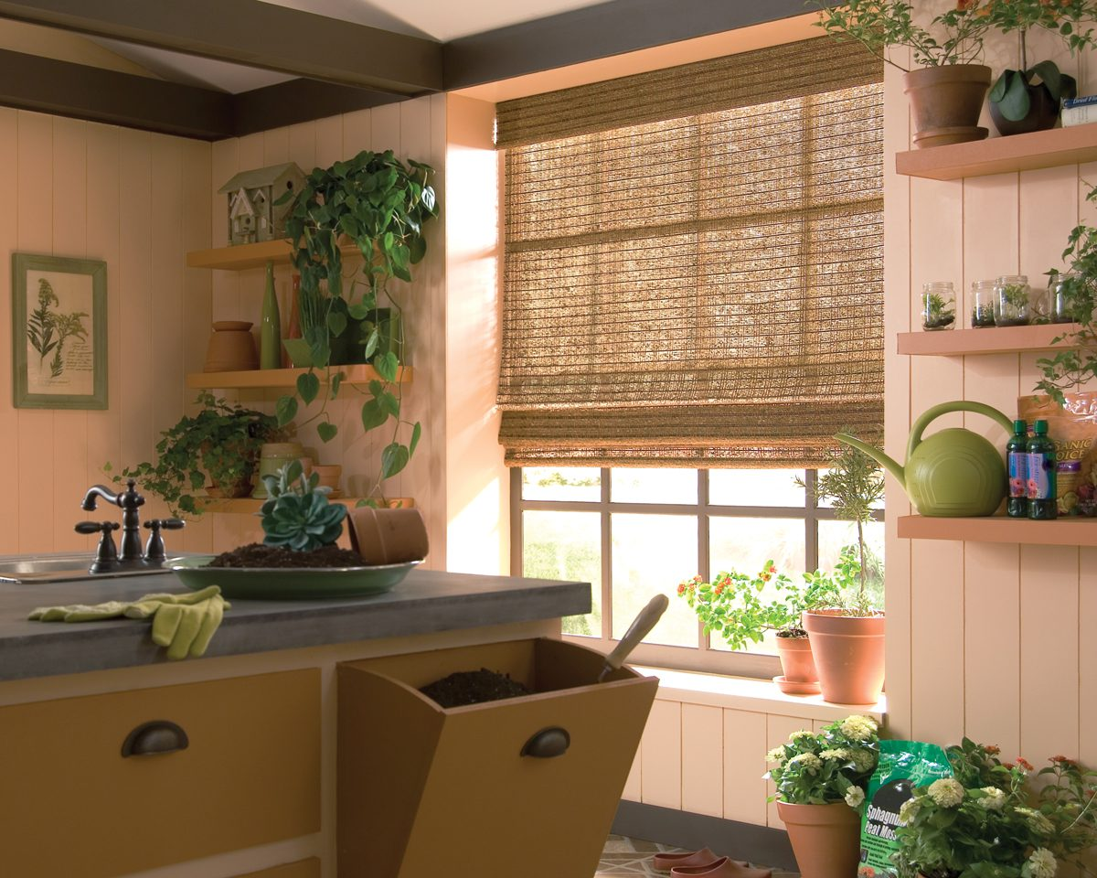 Provenance Woven Wood Shade with Cordlock - Bedroom