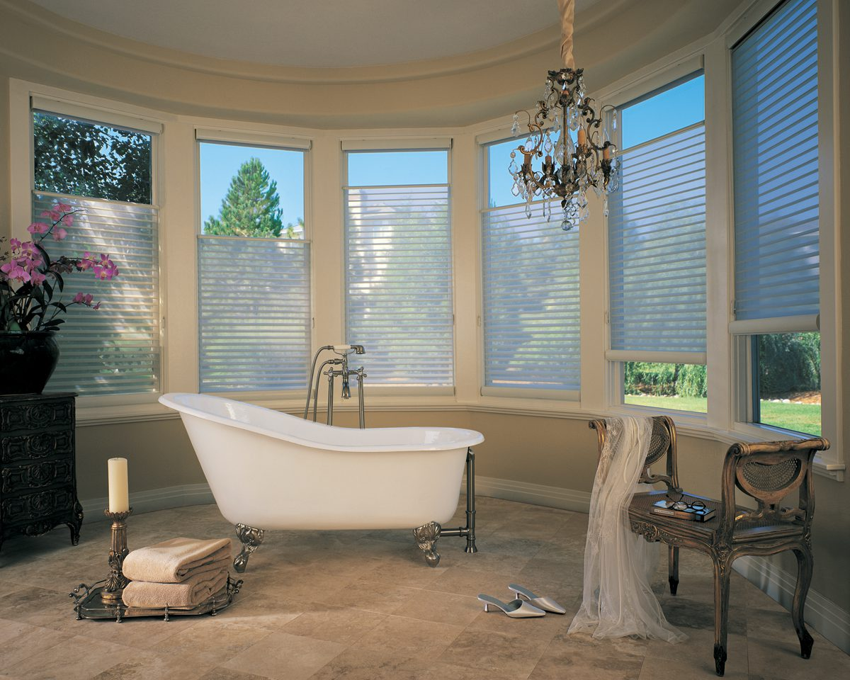 Silhouette™ Window Shadings with Easyrise in Bath