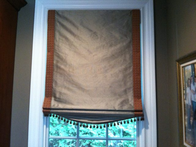 Banded Fabric Shade