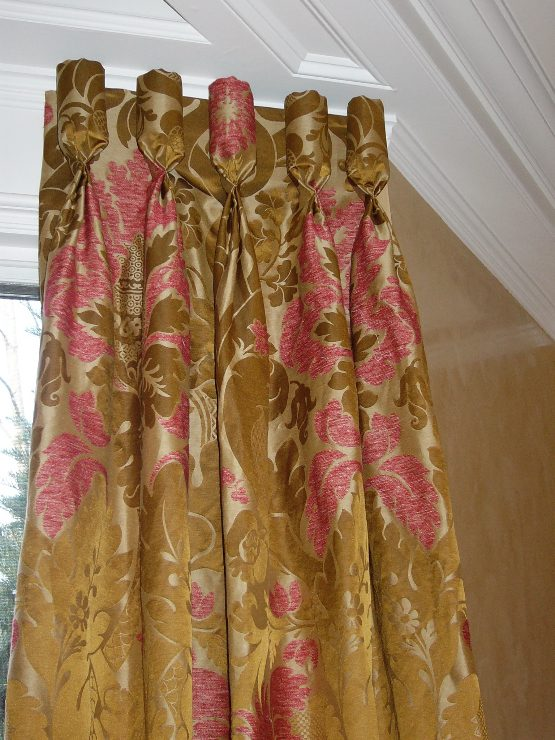 Goblet Pleat Panel