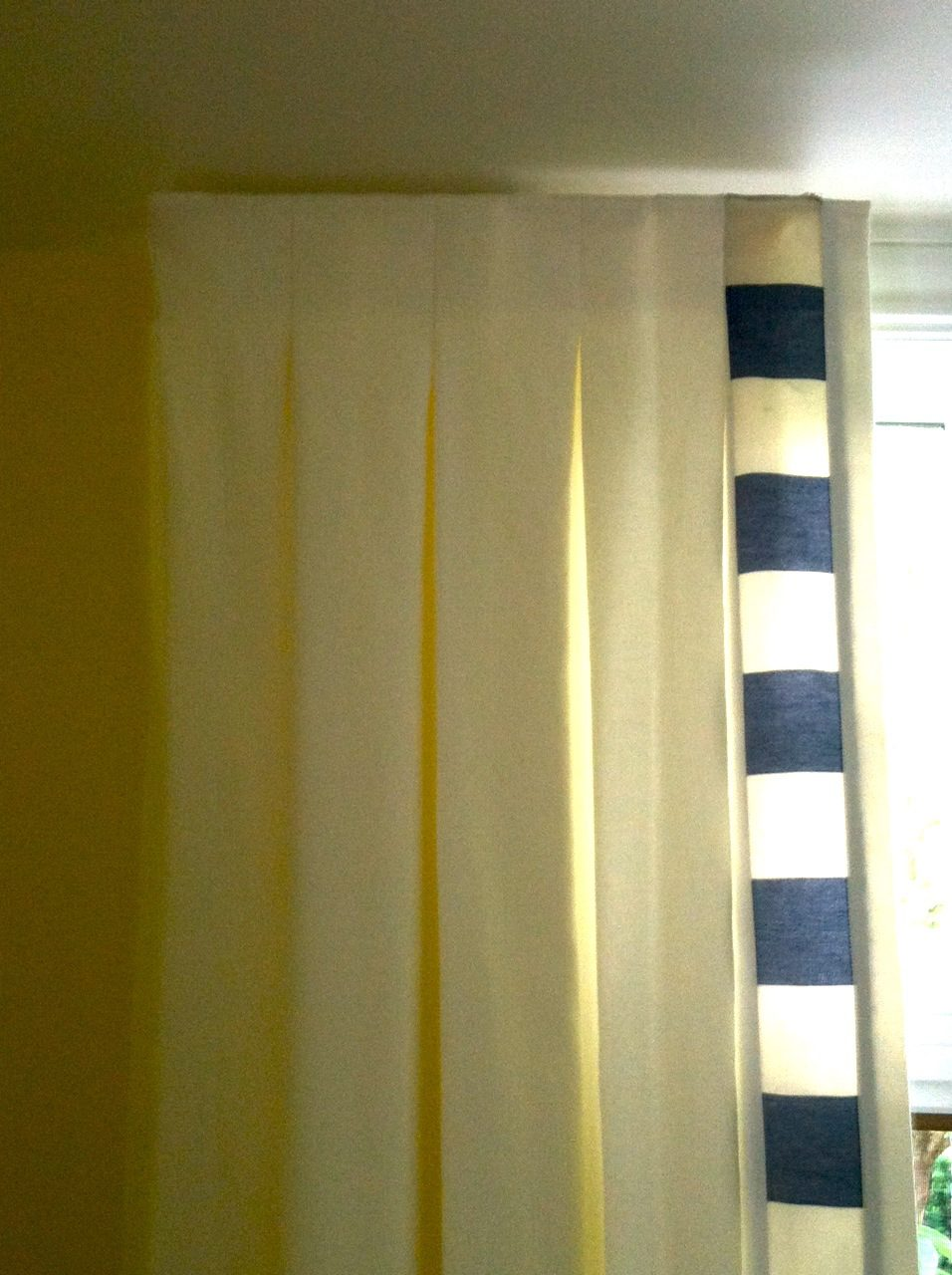 Inverted Box Pleat Panel Curtains Boutique