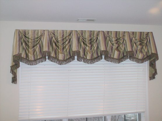 Kingston Valance and Hunter Douglas Silhouette Shade