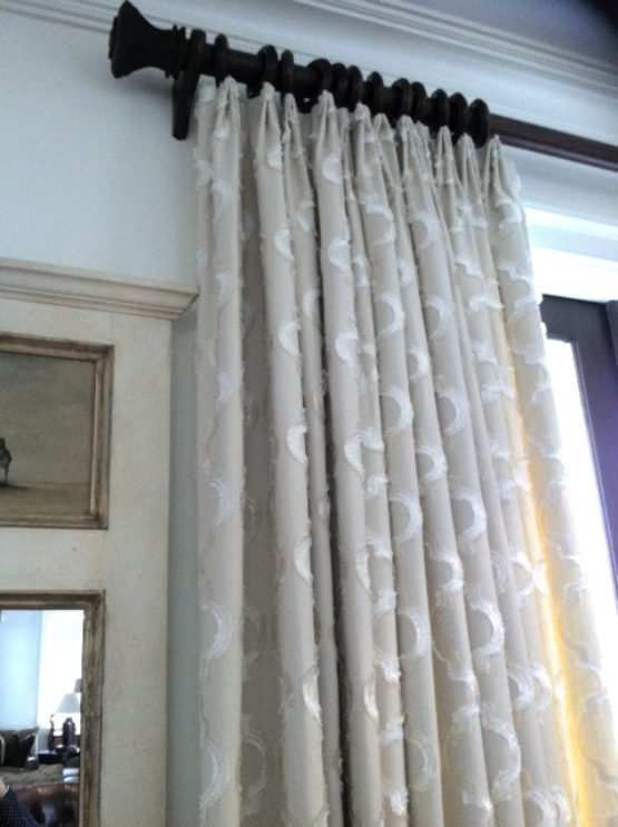 Linen Fan Pleat Panel