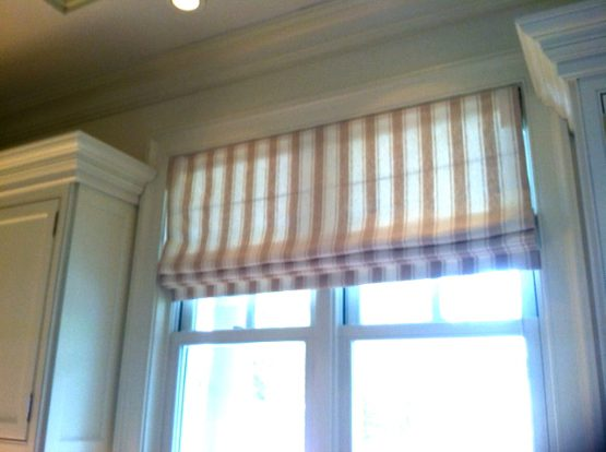 Linen Flat Roman Shades