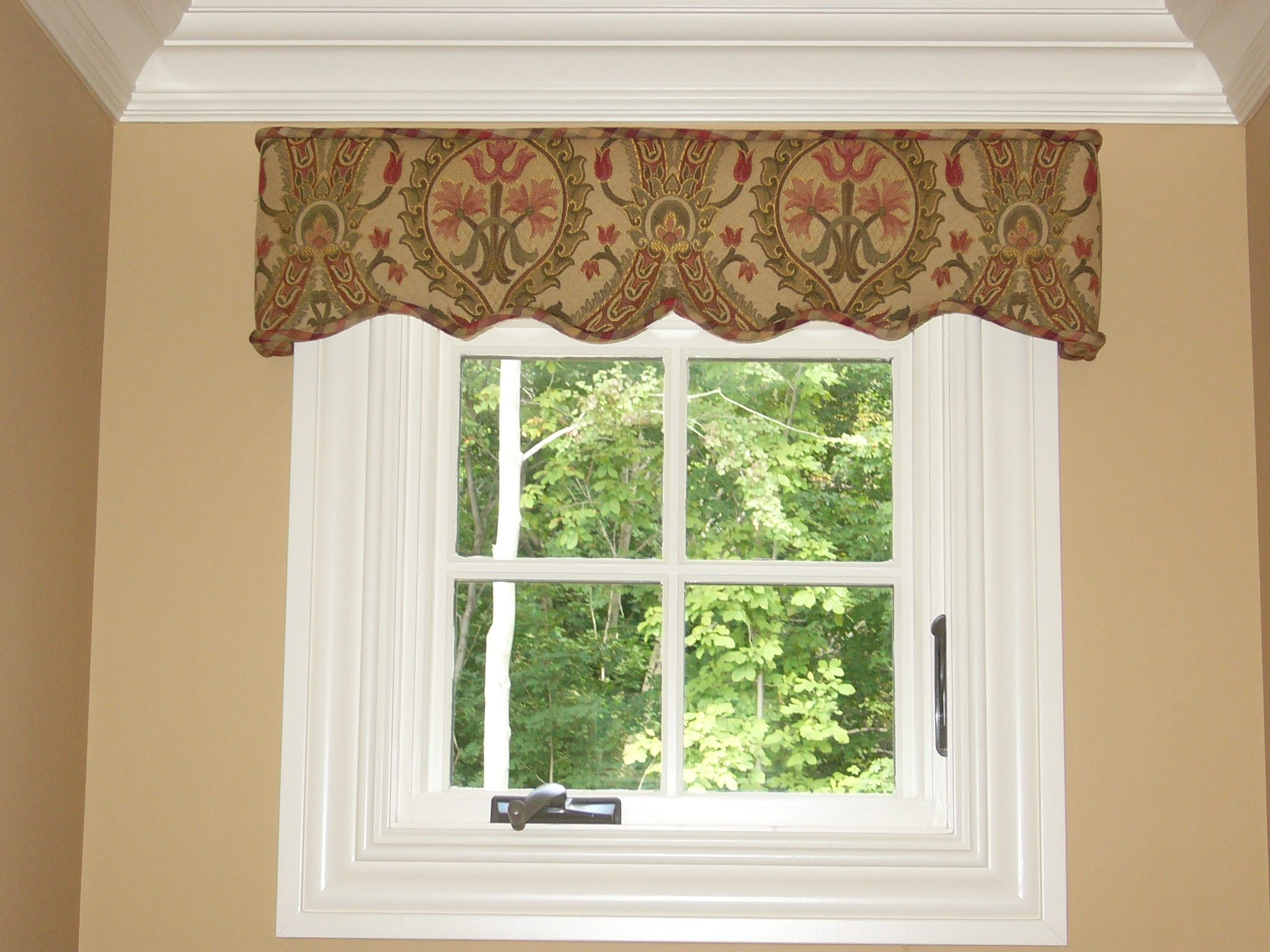 Shaped Cornice Curtains Boutique