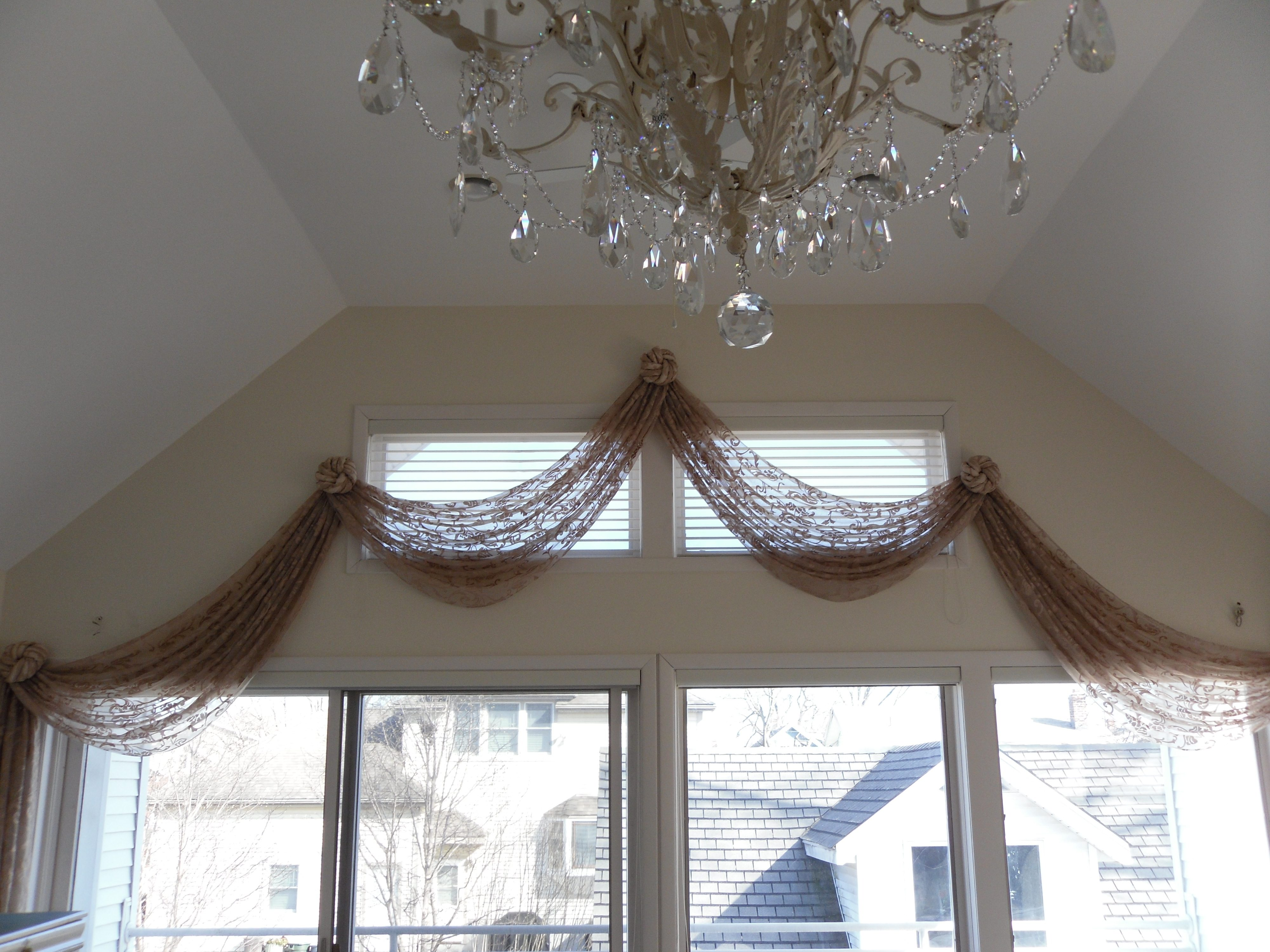 Sheer Swags And Knots Curtains Boutique