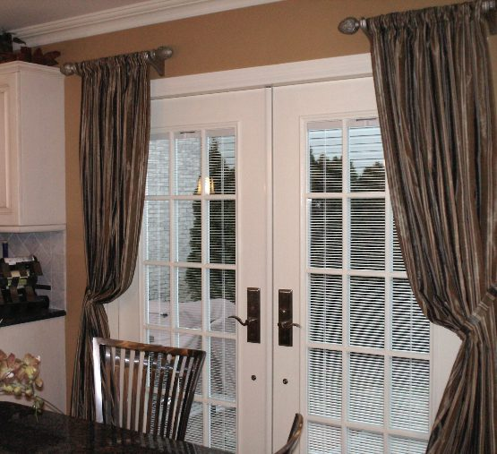 Tie Back Panels on French Doors