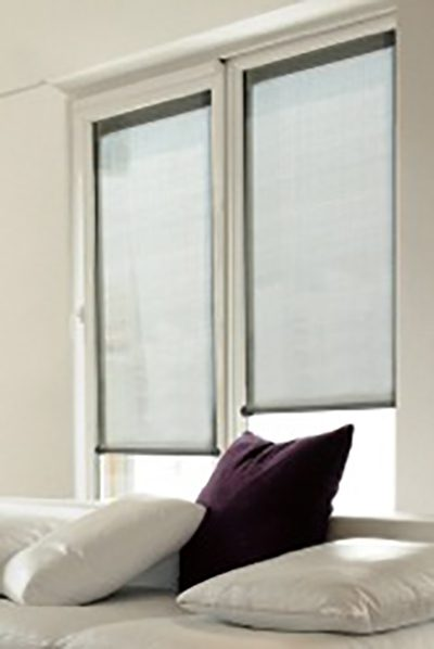 Soluna™ Roller Shades in Bedroom