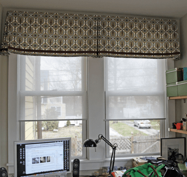 home office 2 - Window Treatment Design Ideas