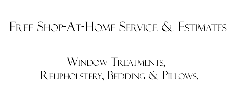Shop at Home Window Treatments