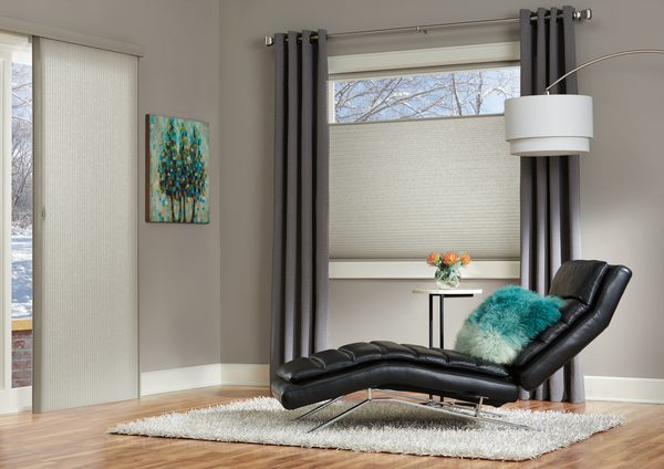 Applause® Honeycomb Shades & Vertiglide™ Vertical Pleated Shades