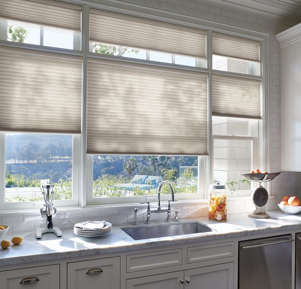 Applause® Honeycomb Shades in Kitchen