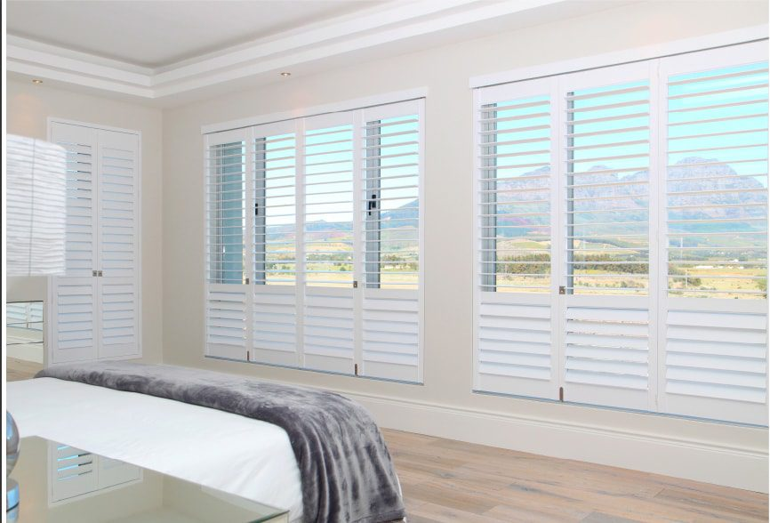 Portrait™Honeycomb Shades in Bedroom
