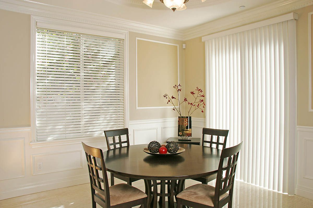 Norman Vertical Blind for Slider Door