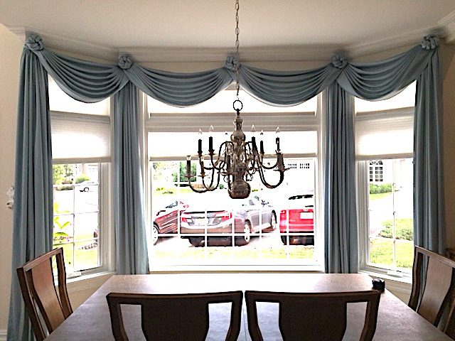 Swags, Knots, & Panels in Dining Room