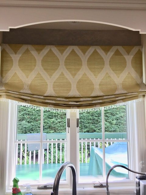 Avanti Valance in Kitchen